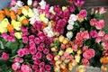 Картинка цветы, букет, природа, красивые, розы, цветок