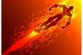Картинка Вектор, огонь, герой