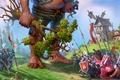 Картинка Majesty 2, the fantasy kingdom sim, великан, дерево, яблоня, трусливая