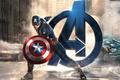 Картинка Avengers: Age of Ultron, Капитан Америка, Captain America, Marvel, Крис Эванс, Мстители: Эра Альтрона, Стив ...