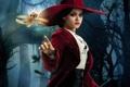 Картинка шляпа, Мила Кунис, Oz: The Great and Powerful, девушка, ведьма, Mila Kunis, Теодора, Оз: Великий ...