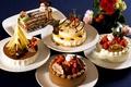 Картинка пирожное, сладкое, клубника, шоколад, украшение