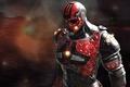 Картинка мужчина, броня, шлем, фантастика, костюм, reaper