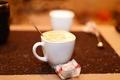 Картинка стол, кофе, ложка, чашка, ужин