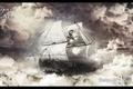 Картинка sky, корабль, ships, denisoff, небо, photoshop, the