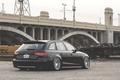 Картинка wheels, black, avant, wagon, Audi, stance