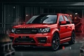 Картинка Red, Front, Land, Rover, Freelander, Jeep, Ligth