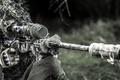 Картинка Soldier, Sniper Rifle, Equipment, Army