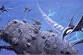 Картинка вода, картина, Aqua, Родни Мэтьюз
