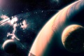 Картинка stars, Sci Fi, planets, art