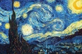 Картинка Картина, Звездная ночь, ван Гога