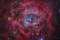 Картинка Туманность, звезды, rosette nebula
