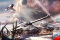 Картинка битва, WarThunder, обои, tank