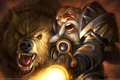Картинка World of warcraft, wow, hunter, охотник, дварф, питомец, медведь