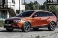 Картинка Lada, Concept, лада, веста, концепт, Cross, автоваз, Vesta, кросс