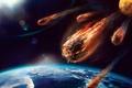 Картинка planet, atmosphere, friction, fire, meteor, heat
