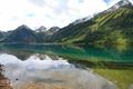 Картинка саяны, озеро, горы