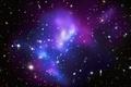 Картинка Галактика, синий, звезды