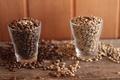 Картинка зерна, кофе, стаканы