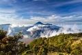 Картинка Индонезия, Ява, Tengger, вулкан Бромо, вулканический комплекс-кальдеры Тенгер