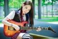 Картинка девушка, восточная, гитаристка