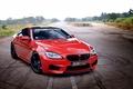 Картинка Coupe, BMW, Red