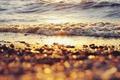 Картинка вода, солнце, bokeh