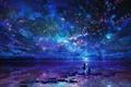 Картинка небо, любовь, звезды