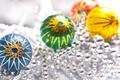 Картинка шары, бусы, праздник