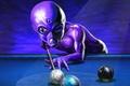 Картинка игра, планеты, пришелец, бильярд., шары, Стол