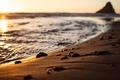 Картинка волны, берег, пляж, песок