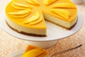 Картинка торт, food, cake, десерт, dessert, чизкейк, fruits, сладкое, cheesecake, mango, фрукты, манго, пирожное, еда