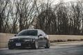 Картинка тюнинг, BMW, диски, black, E46, stance