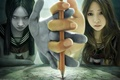 Картинка I-chen lin, девочка, дух, медиум