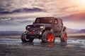 Картинка Track, Wrangler, Function, Jeep, Red, Forged, Custom, Front, Wheels, ADV1