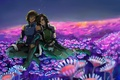 Картинка цветы, духи, Кувира, арт, art, Korra, Avatar, аватар, The Legend of Korra, Аватар: Легенда о ...
