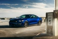 Картинка Ford Mustang, William Stern, hq wallpaper, blue, car