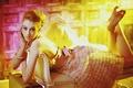 Картинка стиль, платье, девушка, взгляд, свет