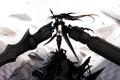 Картинка Black rock shooter, sword, weapon