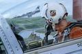 Картинка замок, рисунок, кабина, Lockheed, истребитель-перехватчик, Starfighter, F-104