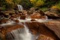 Картинка Западная Виргиния, водопад, West Virginia, осень, Blackwater River, Douglas Falls, водопад Дуглас, река Блэкуотер, река, ...
