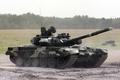 Картинка полигон, танк, т-90