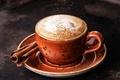 Картинка кофе, чашка, корица, пенка, Coffee, Drinks, Cinnamon