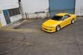 Картинка nissan, R32, skyline, yellow