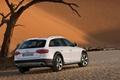 Картинка белый, Audi, пустыня, Allroad