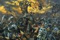 Картинка Warhammer, mark of chaos, хаос, хаоситы, битва, смерть, топор