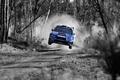 Картинка Subaru, wrx sti, rally, прыжок