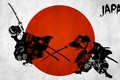 Картинка red, samurai, japanese wall decals