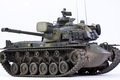 Картинка игрушка, средний танк, моделька, М48А3, Паттон III, дуло