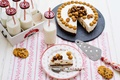 Картинка суфле, торт, печенье, шоколад, молоко